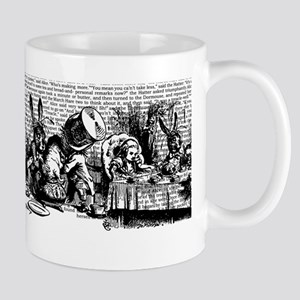 Vintage Alice Text And Border Mug