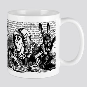 Vintage Alice Text And Border Mug Mugs