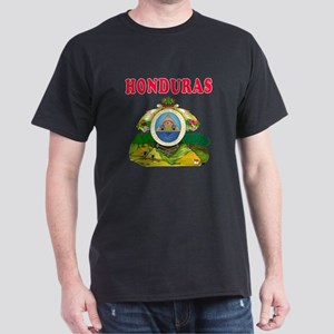 Honduras Coat Of Arms Designs Dark T-Shirt