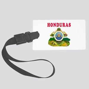 Honduras Coat Of Arms Designs Large Luggage Tag