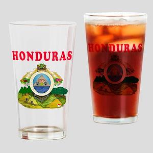 Honduras Coat Of Arms Designs Drinking Glass