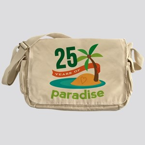 25 Years Of Paradise 25th Anniversary Messenger Ba