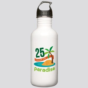 25 Years Of Paradise 25th Anniversary Water Bottle