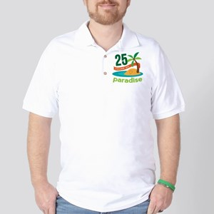 25 Years Of Paradise 25th Anniversary Golf Shirt