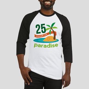 25 Years Of Paradise 25th Anniversary Baseball Jer