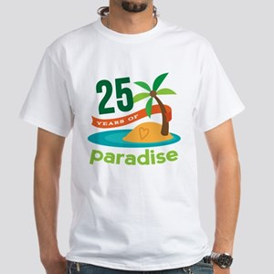25 Years Of Paradise 25th Anniversary T-Shirt