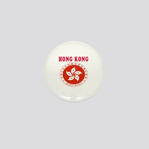 Hong Kong Coat Of Arms Designs Mini Button