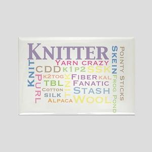 Knitter Rectangle Magnet