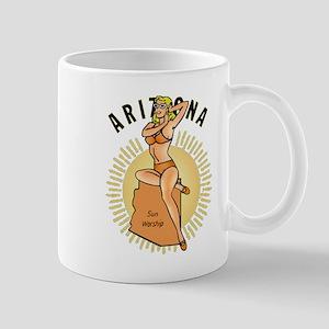 Vintage Arizona Pinup Mug