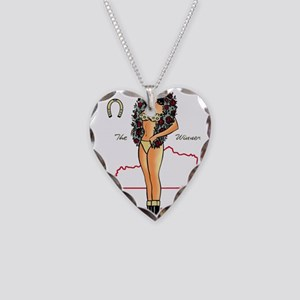 Vintage Kentucky Pinup Necklace