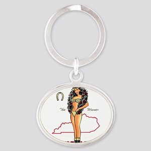 Vintage Kentucky Pinup Keychains