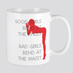 Good Girls Bend at the Knees Mug