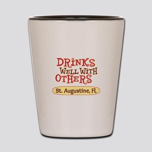 St. Augustine - Drinks Well Shot Glass