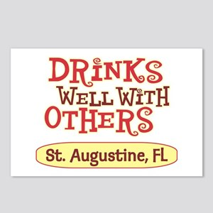 St. Augustine - Drinks Well Postcards (Package of
