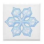 Flurry Snowflake XIX Tile Coaster