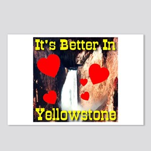 It's Better In Yellowstone Postcards (Package of 8