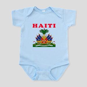 Haiti Coat Of Arms Designs Infant Bodysuit
