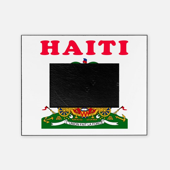 Haiti Coat Of Arms Designs Picture Frame