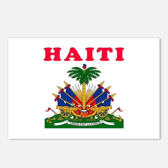 Haiti Coat Of Arms Designs Postcards (Package of 8