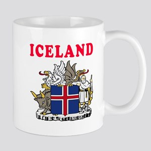 Iceland Coat Of Arms Designs Mug