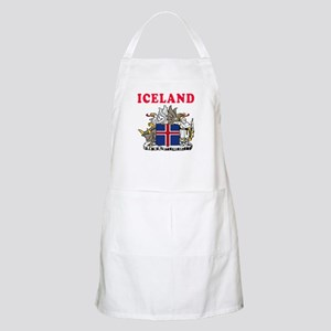 Iceland Coat Of Arms Designs Apron