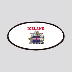 Iceland Coat Of Arms Designs Patches