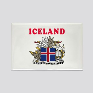 Iceland Coat Of Arms Designs Rectangle Magnet