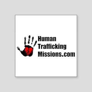 Human Trafficking Missions Sticker