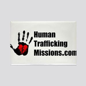 Human Trafficking Missions Rectangle Magnet