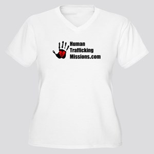 Human Trafficking Missions Plus Size T-Shirt