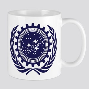 United Federation of Planets 2013 Dark Logo Mug