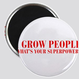 I-grow-people-bod-red Magnet