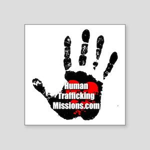 Human Trafficking Missions Small Logo Sticker