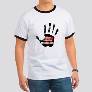 Human Trafficking Missions Small Logo T-Shirt