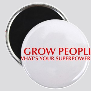 I-grow-people-opt-red Magnet