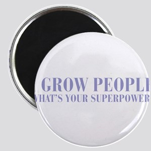 I-grow-people-BOD-VIOLET Magnet