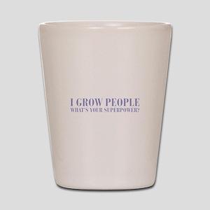 I-grow-people-BOD-VIOLET Shot Glass