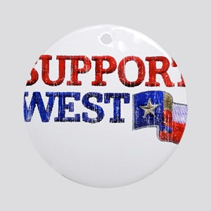 Support West Ornament (Round)