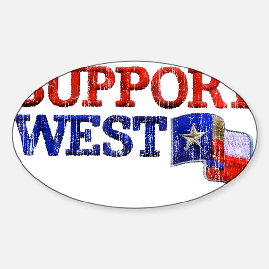 Support West Decal