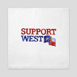 Support West Queen Duvet