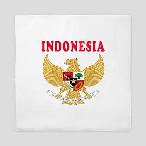 Indonesia Coat Of Arms Designs Queen Duvet