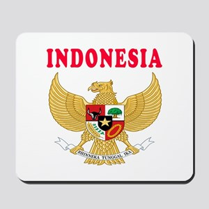 Indonesia Coat Of Arms Designs Mousepad