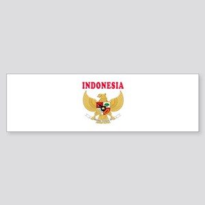 Indonesia Coat Of Arms Designs Sticker (Bumper)