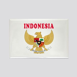 Indonesia Coat Of Arms Designs Rectangle Magnet