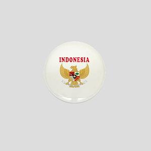 Indonesia Coat Of Arms Designs Mini Button