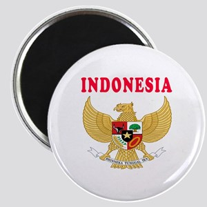 Indonesia Coat Of Arms Designs Magnet