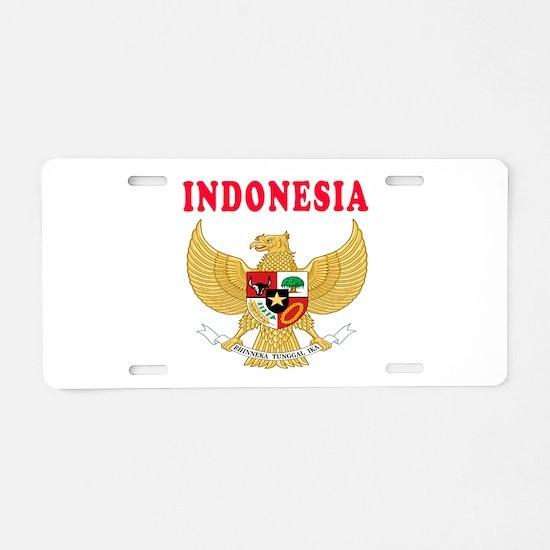 Indonesia Coat Of Arms Designs Aluminum License Pl