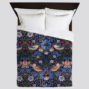 William Morris Strawberry Thief Queen Duvet