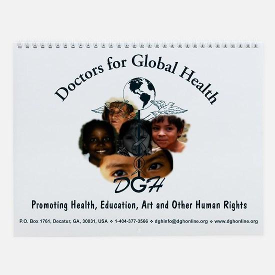 Doctors for Global Health Wall Calendar