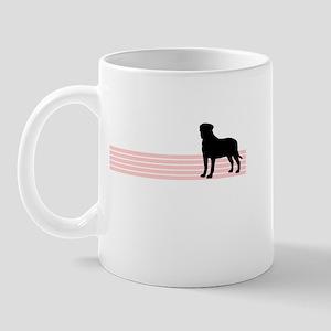 Retro Bullmastiff Mug